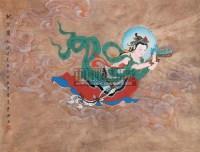 献花图 镜心 设色纸本 - 赵秀焕 - 中国书画 - 2006新年拍卖会 -收藏网