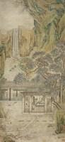 尤求(明嘉靖-万历初)雅士抚琴图 - 尤求 - 中国书画 - 2007年秋季中国书画拍卖会 -收藏网