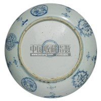 AN EXTREMELY RARE BLUE AND WHITE DISH FOR THE PORTUGUESE MARKET -  - 中国瓷器工艺品 - 2011春季拍卖会 -收藏网