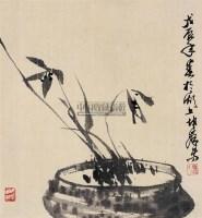 兰花 立轴 纸本 - 123368 - 中国书画(一) - 2011春季艺术品拍卖会 -收藏网