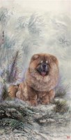 藏獒 框 - 128757 - 书画 油画 杂项 - 2009欢乐节艺术品拍卖会 -收藏网