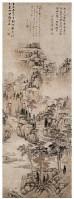 山水 立轴 设色纸本 - 黄公望 - 中国书画(古代)专场 - 2007春季拍卖会 -收藏网
