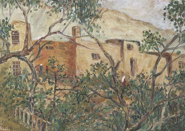 《维吾尔在居》 - 127131 - 中国书画 - 2007年秋季拍卖会 -收藏网