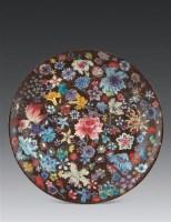 民国 粉彩花卉盘 -  - 瓷器玉器工艺品 - 2007秋季艺术品拍卖会 -收藏网