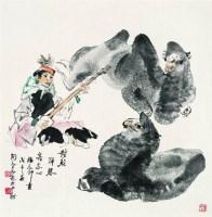 对驼弹琴 -  - 书画 - 2008春季大型书画拍卖会 -收藏网