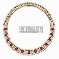 RUBY AND DIAMOND NECKLACE, Van Cleef & Arpels,NL -  - Magnificient Jewels and Jadeite - 2007年秋季拍卖会 -收藏网