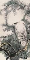 陈佩秋 白鹭 立轴 设色纸本 - 2605 - 中国书画 - 2006秋季文物艺术品展销会 -收藏网