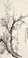 墨梅 立轴 水墨纸本 - 122234 - 中国书画 - 2011年夏季艺术品拍卖会 -收藏网
