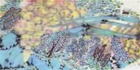 山水 画心 设色纸本 - 124260 - 中国书画(一) - 2011秋季拍卖会 -收藏网