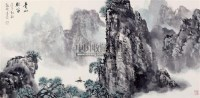 青山牧笛 镜片 设色纸本 -  - 中国书画专场 - 书画保真专场拍卖会 -中国收藏网