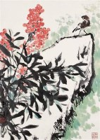 花鸟 镜心 设色纸本 - 孙其峰 - 中国书画 - 第55期中国艺术精品拍卖会 -收藏网