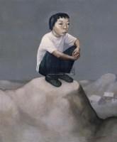 蹲着的男孩 布面 油画 - 段建伟 - 油画专场 - 2006年秋季艺术品拍卖会 -收藏网