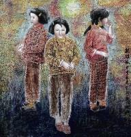 王有政   亲姐妹 -  - 中国书画 - 广东宝通拍卖公司艺术精品拍卖会 -中国收藏网