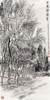 武威海藏寺 镜心 水墨纸本 - 张仃 - 中国书画(二) - 2008首届大型艺术品拍卖会 -收藏网