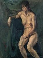 人体 布面油画 - 140413 - 油画专场 - 2006迎春首届大型艺术品拍卖会 -收藏网
