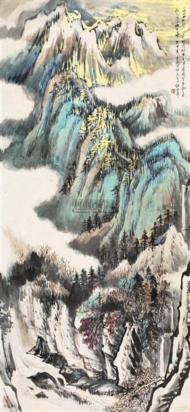 山水 立轴 - 4513 - 中国书画 - 2011年春季艺术品拍卖会 -收藏网