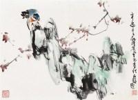 花鸟 镜片 设色纸本 - 147381 - 中国书画、油画 - 2011冬季古今艺术品拍卖会 -收藏网