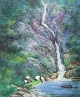 国宝熊猫 纸本设色 - 156962 - 中国书画 - 2011春季艺术品拍卖会 -收藏网