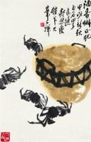 酒香蟹正肥 镜心 设色纸本 - 2675 - 中国书画 - 2008太平洋迎春艺术品拍卖会 -收藏网