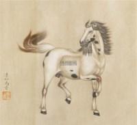 马 镜片 纸本 - 116774 - 古董珍玩 - 2012迎春艺术品拍卖会 -收藏网