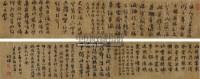 书法手卷 手卷 水墨绢本 - 2033 - 中国书画 - 四季精品拍卖会 -收藏网