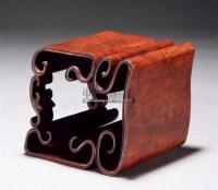 红木云纹卷台 -  - 古董珍玩 - 2011金秋艺术品拍卖会 -收藏网