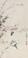 花蝶图 镜心 设色纸本 - 116837 - 中国书画(一) - 2011年春季拍卖会 -中国收藏网