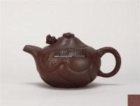 裴德荣款鱼化龙壶 -  - 中国当代高端工艺品 - 2011年春季拍卖会 -收藏网