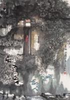 春柳新荷人家  镜心 设色纸本 - 杨延文 - 中国当代水墨 - 2006秋季拍卖会 -收藏网