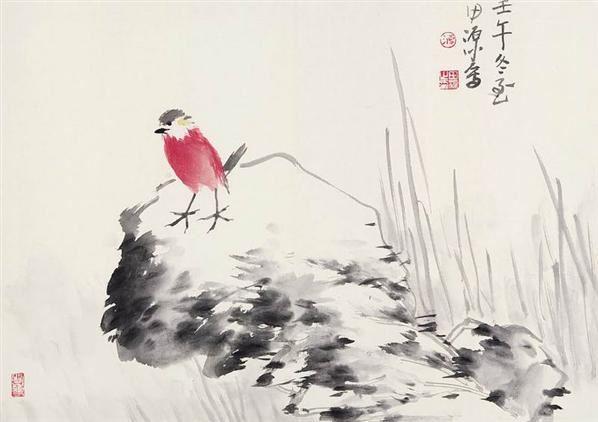 田源花鳥 -  - 现当代书画名家专场 - 2008秋季艺术品拍卖会 -收藏网