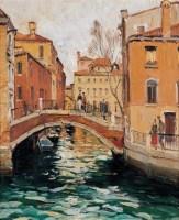 威尼斯水乡 布面油画 - 154495 - 油画专场 - 2006迎春首届大型艺术品拍卖会 -收藏网