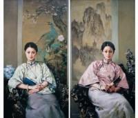古仪沉香 布面 油画 - 140385 - 名家西画 当代艺术专场 - 2008年春季拍卖会 -中国收藏网