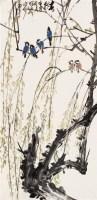 春朝 立轴 设色纸本 - 黄独峰 - 中国书画 - 2006秋季拍卖会 -中国收藏网