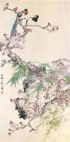 花鸟 立轴 -  - 中国书画专场 - 2010年冬季艺术精品拍卖会 -收藏网