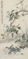秋光 立轴 设色纸本 - 4892 - 中国书画 - 2008秋季艺术品拍卖会 -中国收藏网