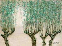 春风又绿江南岸 布面 油画 - 罗工柳 - 开拓与奠基---二十世纪中国油画先驱专场 - 2010秋季拍卖会 -收藏网
