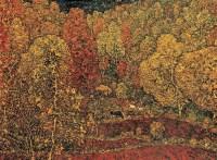 邵增虎 金色山谷 布面 油画 -  - 中国油画 - 2006年秋季拍卖会 -收藏网