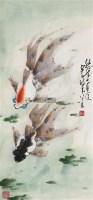 悠然各自适 镜框 设色纸本 - 135045 - 中国书画、油画 - 2011冬季古今艺术品拍卖会 -收藏网