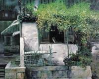 潘鸿海 窗台上的猫 布面油画 - 潘鸿海 - 中国油画 - 2006秋季艺术品拍卖会 -收藏网