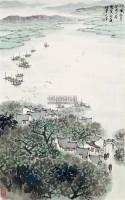 江南人家 立轴 纸本 - 5002 - 中国书画 - 2011春季艺术品拍卖会 -收藏网