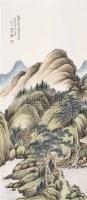 山水 立轴 设色纸本 - 吴桐 - 中国书画(一) - 2006金秋拍卖会 -收藏网