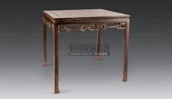 红木四仙桌 - - 明清古典家具 - 2006年秋季大型明清古典家具专场拍卖