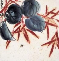 齐良已    花虫 - 齐良已 - 中国近现代书画 - 2007年第1期嘉德四季拍卖会 -收藏网