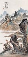 秋江垂钓 立轴 设色纸本 - 徐北汀 - 中国书画 - 第55期中国艺术精品拍卖会 -收藏网