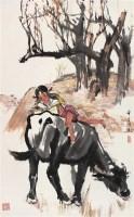 俞云阶 牧趣图 立轴 设色纸本 - 俞云阶 - 中国书画 - 2006年秋季拍卖会 -收藏网