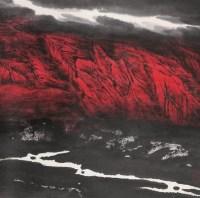 周尊圣 山水 立轴 设色纸本 - 周尊圣 - 中国书画 - 2006首届慈善拍卖会 -收藏网