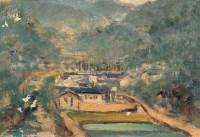 风景 布面油画 - 140412 - 油画专场 - 2006迎春首届大型艺术品拍卖会 -收藏网