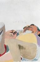 角度 布面油画 - 王玉平 - 当代与唯美 中国油画雕塑 - 2008春季大型艺术品拍卖会 -收藏网