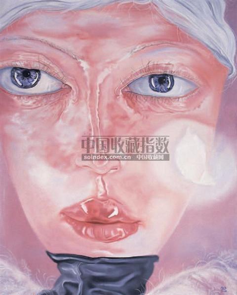 灰羽的肖像 - 153227 - 中国油画雕塑专场 - 十五周年暨2007年春季艺术品拍卖会 -收藏网