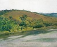 风景 布面 油画 - 张冬峰 - 中国油画 - 2007秋季大型拍卖会 -收藏网